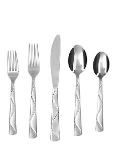 Cambridge Silversmiths Boa Frost 20-Piece Flatware Set - Online Only