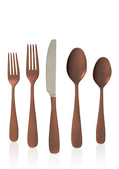 Cambridge Silversmiths Ceceila Copper Mirror Flatware