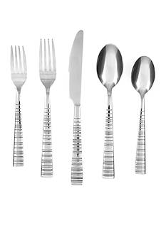 Cambridge Silversmiths Vertex Mirror 20-Piece Flatware Set