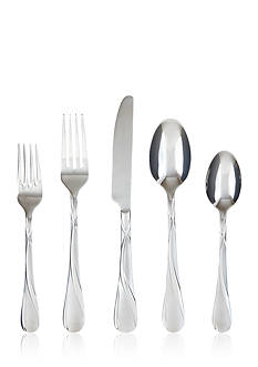 Cambridge Silversmiths Rue Frost 20-Piece Flatware Set