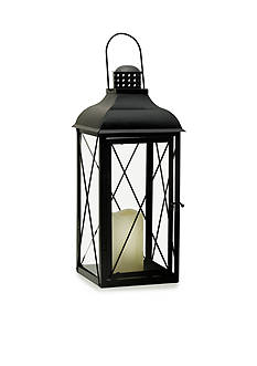 Elements 19-in. LED Pillar Lantern