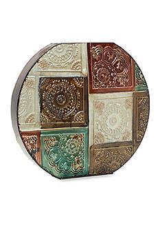 Elements Embossed Suzani Vase