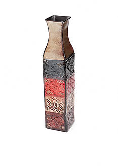 Elements 17-in. Multi Colored Tile Vase