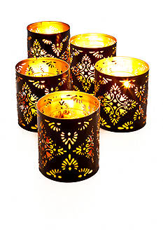Elements 5-Pack Flower Votive Holder