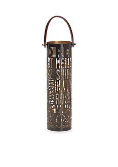 Elements 14-in. Metal Wine Bottle Holder