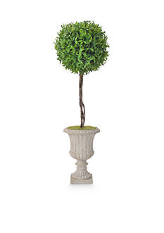 Bombay 24-in. Capsicum Leave Ball Topiary