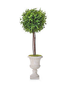 Bombay 20-in. Capsicum Leave Ball Topiary
