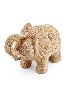 Bombay™ Beige Ceramic Elephant Figurine