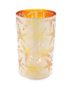 Elements Large White Starfish Luminary
