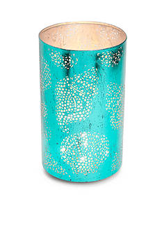 Elements L Teal Shell Luminary