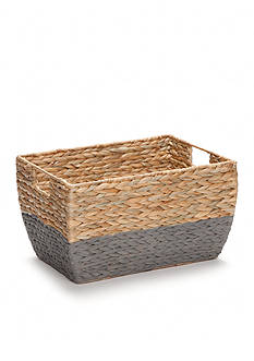 Elements 9-in. Natural Gray Seagrass Basket