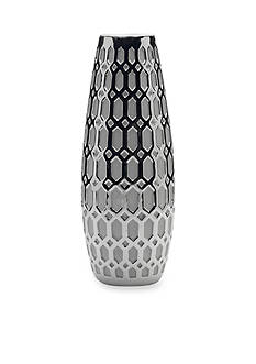 Elements 16-in. Geo Ceramic Vase
