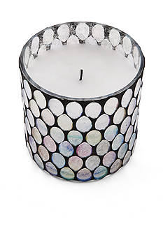 Elements 6-in. LED Mosaic Candle