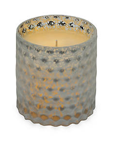 Elements 4.5-in. Embossed Glass LED Candle