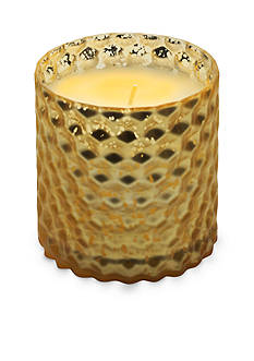 Elements 4.5-in. Embossed LED Glass Candle