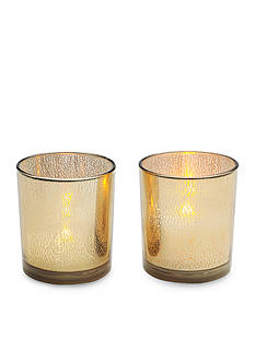 Elements 2-Pack LED Filled Votive Candle Set