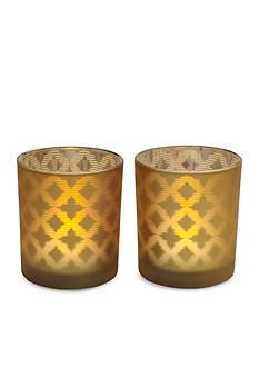Elements 2-Pack LED Filled Votive Candle Set