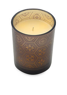 Elements 4-in. Laser LED Filled Glass Candle