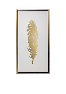 Elements 39-in. Feather Wall Canvas