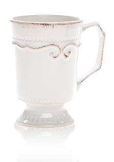 Home Accents CAPRI WHT 14OZ MUG