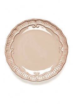 Home Accents Capri Taupe 9-in. Salad Plate