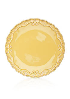 Home Accents Capri Buttercup Dinner Plate 11-in.