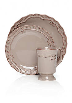 Home Accents® Capri Taupe Dinnerware