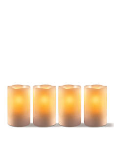 Order™ Home Collection 4-Piece Flameless Candle Set With Timer