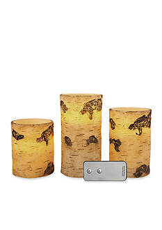 Order™ Home Collection 4-Piece Flameles Candle with Remote