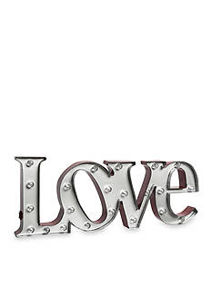 Order™ Home Collection Love LED 7.5-in. Marquee Sign