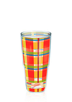 Fiesta Tervis Poppy Plaid 24-oz. Wrap Tumbler