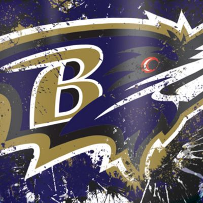 Tumbler: Baltimore  Ravens Tervis 24-oz. NFL Splatter Tumbler