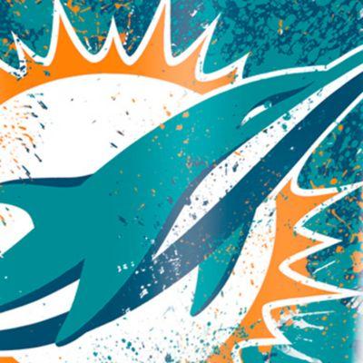 Coffee Tumbler: Miami      Dolphins Tervis 16-oz. NFL Splatter Tumbler