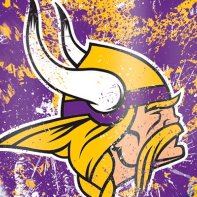 Tumbler: Minnesota  Vikings Tervis 24-oz. NFL Splatter Tumbler