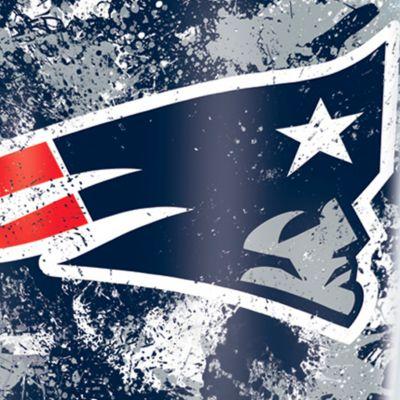 Coffee Tumbler: New England Patriots Tervis 16-oz. NFL Splatter Tumbler