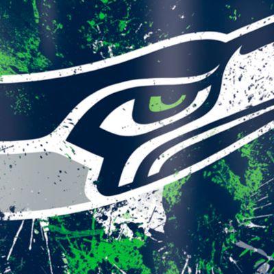 Coffee Tumbler: Seattle    Seahawks Tervis 24-oz. NFL Splatter Tumbler