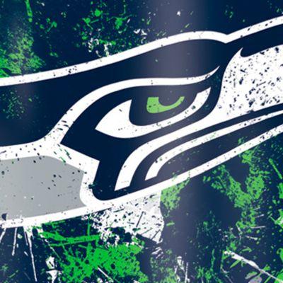 Tumbler: Seattle  Seahawks Tervis 16-oz. NFL Splatter Tumbler