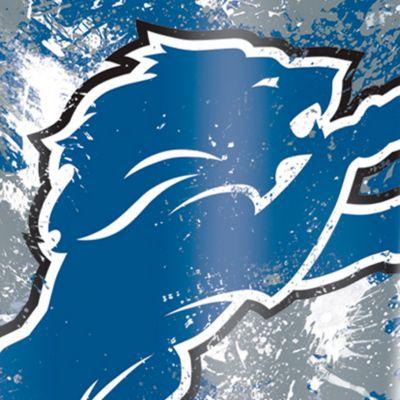 Coffee Tumbler: Detroit    Lions Tervis 16-oz. NFL Splatter Tumbler