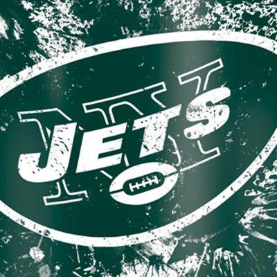 Coffee Tumbler: New York   Jets Tervis 16-oz. NFL Splatter Tumbler