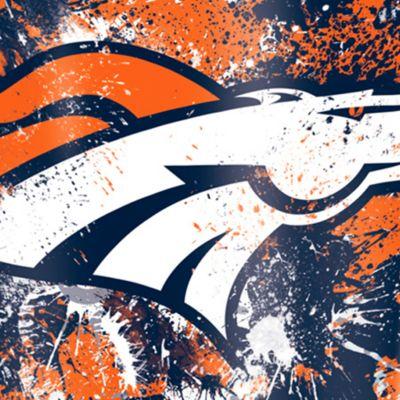 Coffee Tumbler: Denver     Broncos Tervis 16-oz. NFL Splatter Tumbler