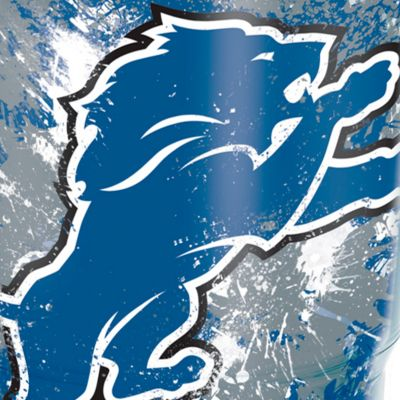 Coffee Tumbler: Detroit    Lions Tervis 24-oz. NFL Splatter Tumbler
