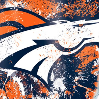 Coffee Tumbler: Denver     Broncos Tervis 24-oz. NFL Splatter Tumbler