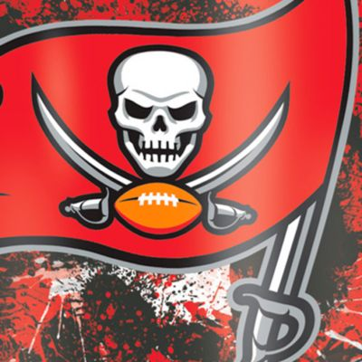 Tumbler: Tampa Bay   Bucs Tervis 16-oz. NFL Splatter Tumbler
