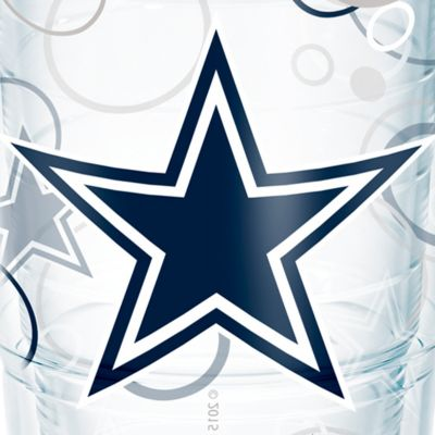 Tableware: Drinkware: Dallas     Cowboys Tervis 24-oz. NFL Bubble Up Tumbler
