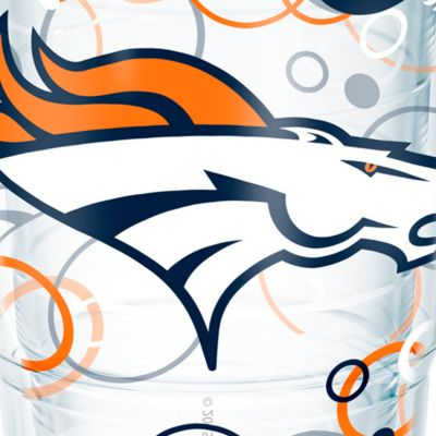 Tableware: Drinkware: Denver     Broncos Tervis 24-oz. NFL Bubble Up Tumbler