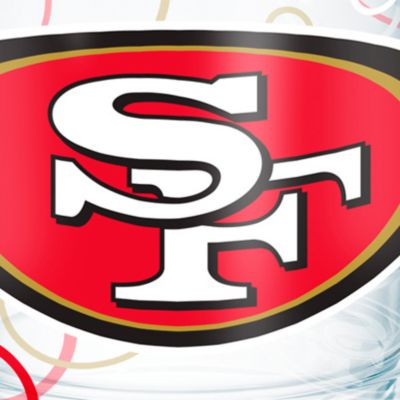 Tableware: Drinkware: San        Francisco 49Ers Tervis 24-oz. NFL Bubble Up Tumbler