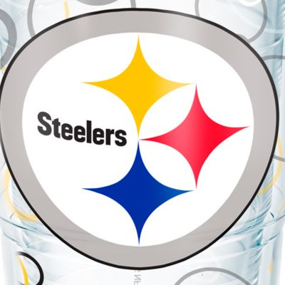 Tableware: Drinkware: Pittsburgh Steelers Tervis 24-oz. NFL Bubble Up Tumbler