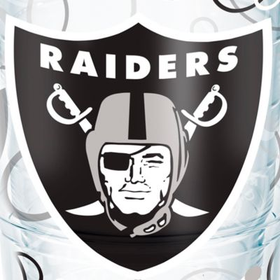 Tableware: Drinkware: Oakland    Raiders Tervis 24-oz. NFL Bubble Up Tumbler