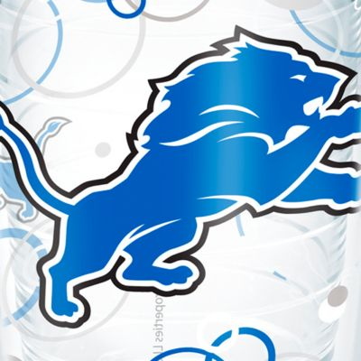 Tumbler: Detroit    Lions Tervis 16-oz. NFL Bubble Up Tumbler