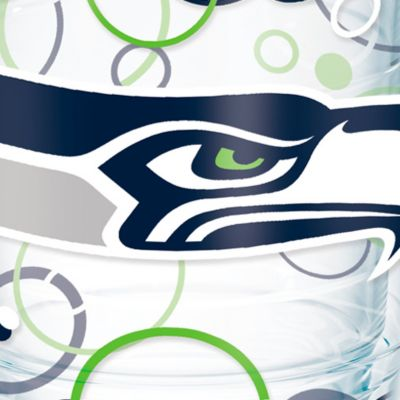 Tableware: Drinkware: Seattle   Seahawks Tervis 24-oz. NFL Bubble Up Tumbler